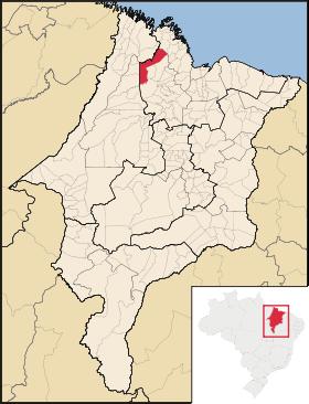 Localização de Santa Helena