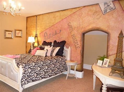 kids room outstanding paris wall painting  small