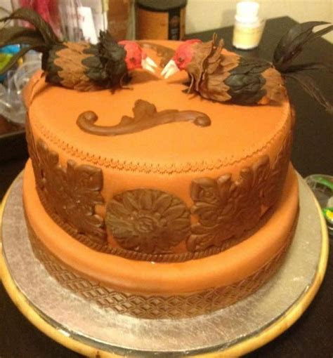 Fighting Roosters   cake by GABRIELA AGUILAR   CakesDecor