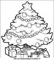 Natale Disegno Da Colorare.Disegno Da Colorare Albero Di Natale