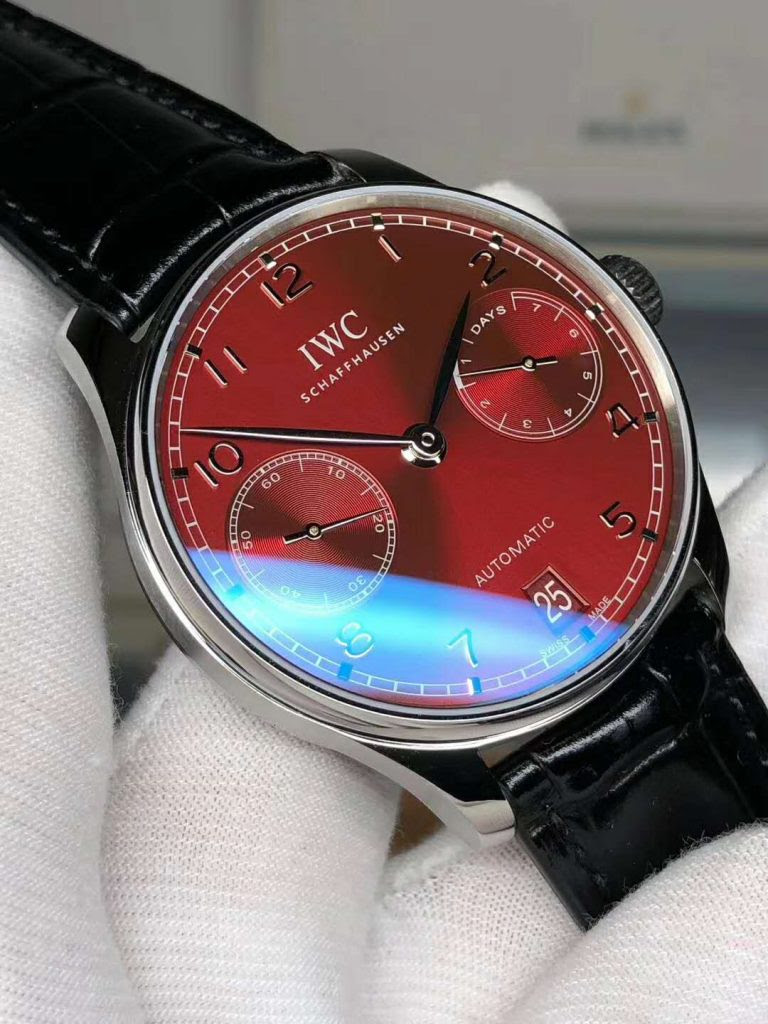 Replica IWC Portuguese 7 Days Red