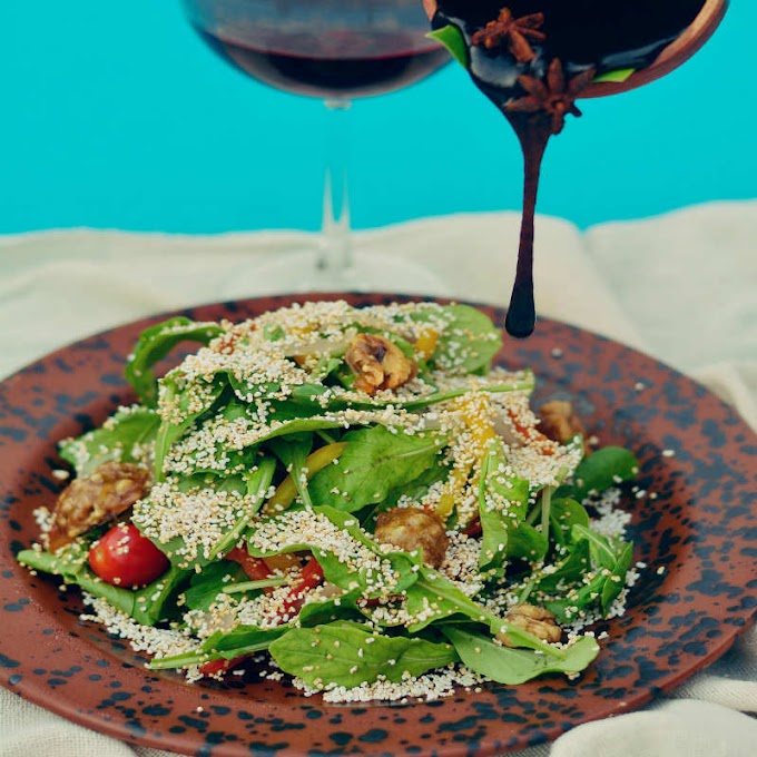 Amaranth Walnut Salad Recipe: How to Make Amaranth Walnut Salad