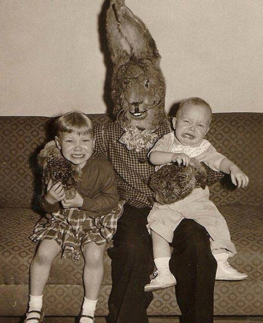 Image result for vintage easter bunny