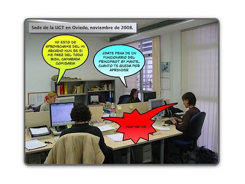 Besos mu eca deme algo for Besos en la oficina 2