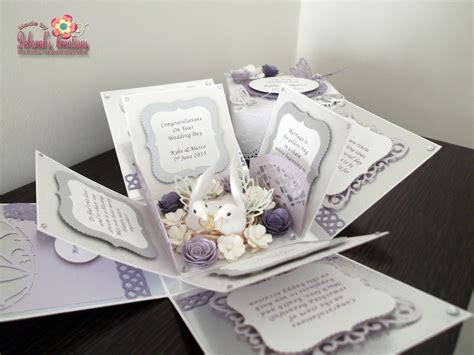 Purple/Silver With Butterflies and Flowers Wedding
