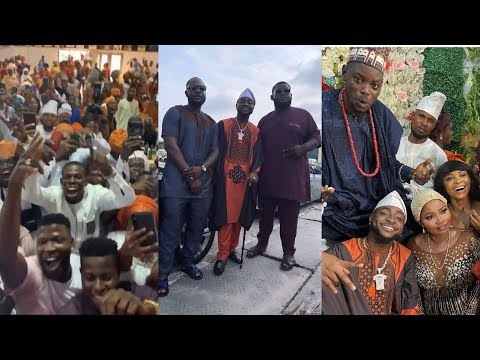 Davido Attends His Driver's Wedding Performs For Guests