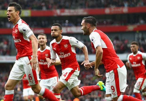 Arsenal 2-1 Southampton: Late Cazorla penalty gives Gunners three points
