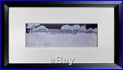 Frank Lloyd Wright Lithograph Ed Limited Ed Banff Pavillion