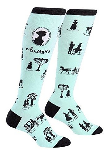 Image result for jane austen knee socks