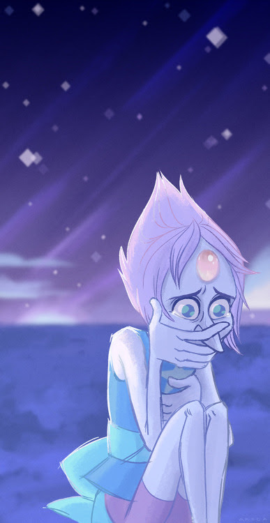 Was originally going to just draw the screencap, but I liked the feeling of having Pearl alone in this one