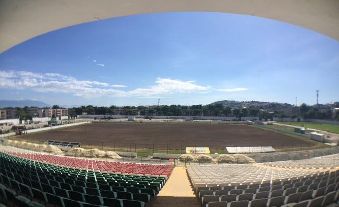 Estádio Luso Brasileiro (Foto: Cahê Mota / GloboEsporte.com)