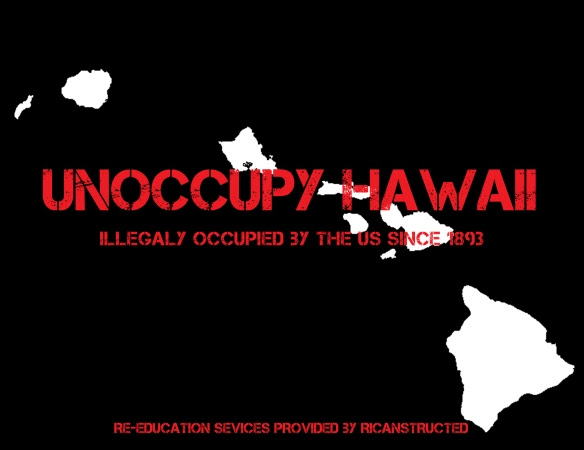 UNOCCUPY HAWAII by vagabond ©