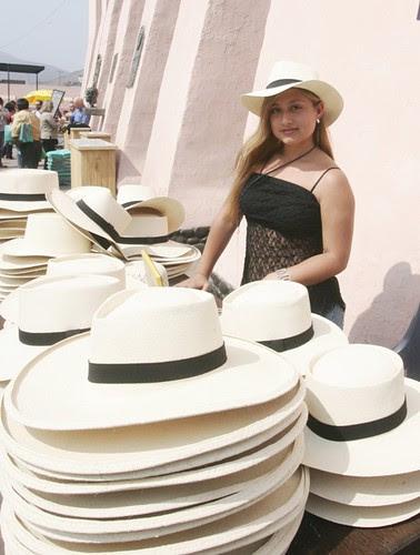 Bella sombrerera de Acho