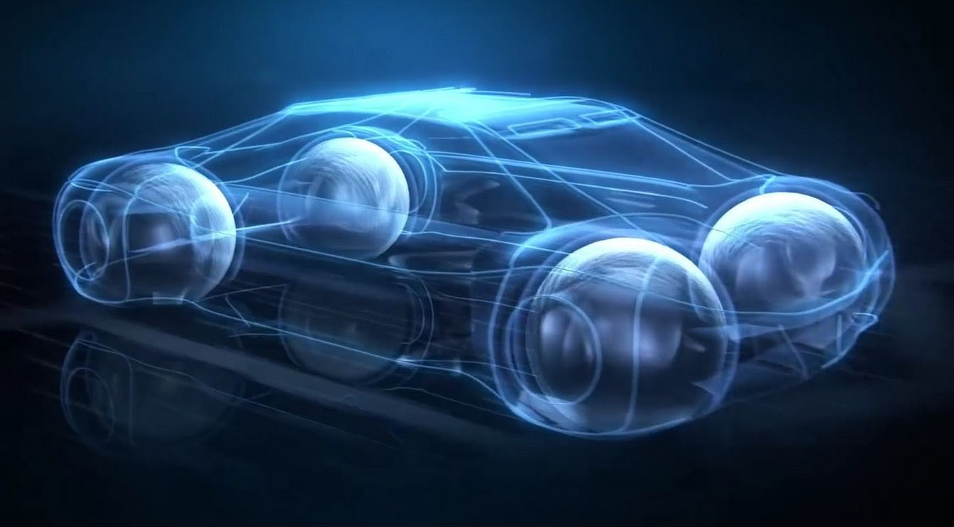 Goodyears Future Tires For Self Driving Cars Four Maglev Spheres Extremetech