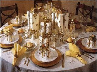 Lindas mesas decoradas para Año Nuevo   Paperblog