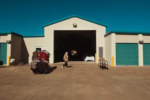 Storage Locker Sale by Jesse Acosta