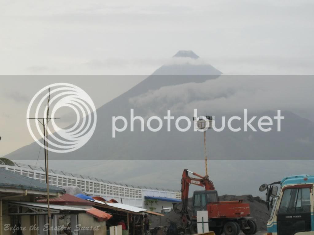 View of Mayon Volcano from Legazpi Port, Bicolandia