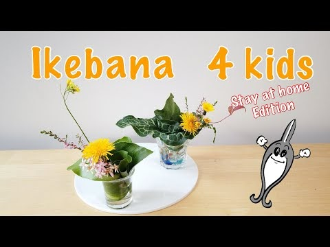 Ikebana 4 Kids: Stay at home 2