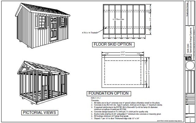 tifany blog  8 x 14 storage shed plans