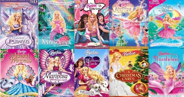 The Complete List of Barbie Movies - How many have you seen?