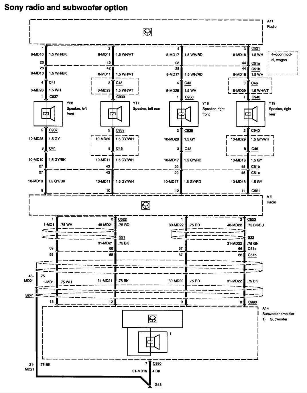 2006 Ford Focus Stereo Wiring Wiring Diagram Dare Crawl A Dare Crawl A Cfcarsnoleggio It