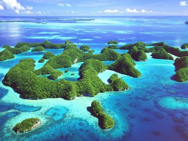 Perfect Islands and Beaches to Escape from Winter - Palau, Western Pacific Ocean
