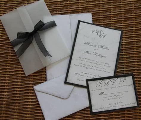 Handmade Wedding Invitation,Rustic, Invite, RSVP