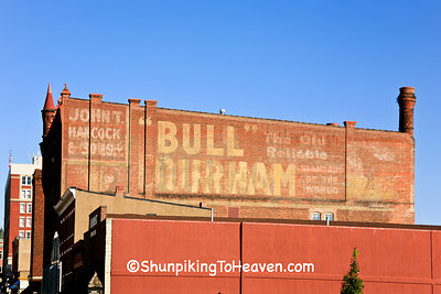 Bull Durham - The Old Reliable Standard of the World, Dubuque, Iowa