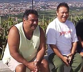 Mauro Moraes com o pai, Dominguinhos (Foto: Reprodução/Reprodução)