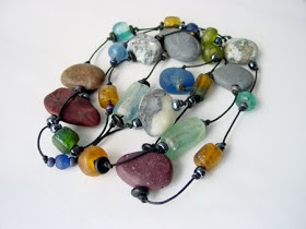 Beadcomber Jewelry: Beach Pebble Jewelry
