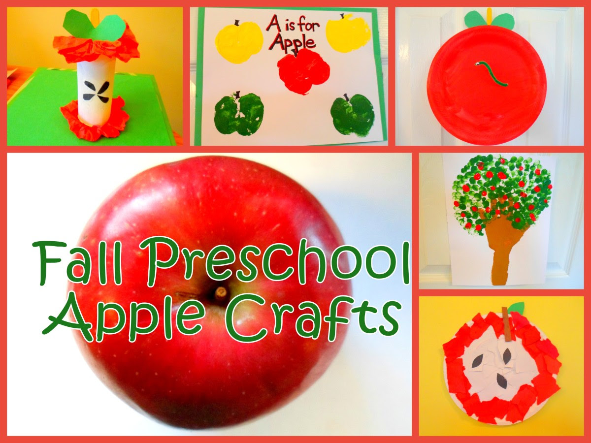Celebrate fall with these easy apple crafts for preschoolers.