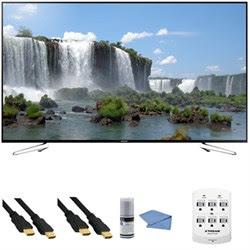 Samsung UN75J6300A - 75-Inch Full HD 1080p 120hz Slim Smart LED HDTV + Hookup Kit