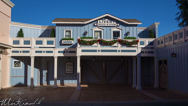 Disneyland Resort, Disneyland, Main Street U.S.A., Christmas Time, Livery