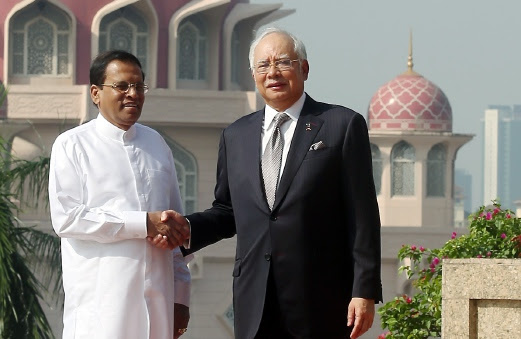 Image result for sri lanka president najib