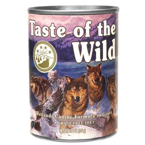 dog food taste   wild canned grain  dog food
