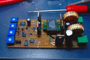 Switchmode laser diode driver based on LT1683