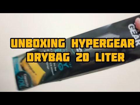 Hypergear drybag 20L | Unboxing