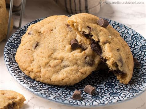 Cookies au chocolat   Recette de cuisine illustrée