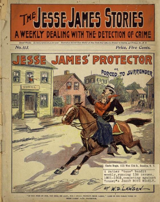 Livros publicados no final do século XIX sobre Jasse James