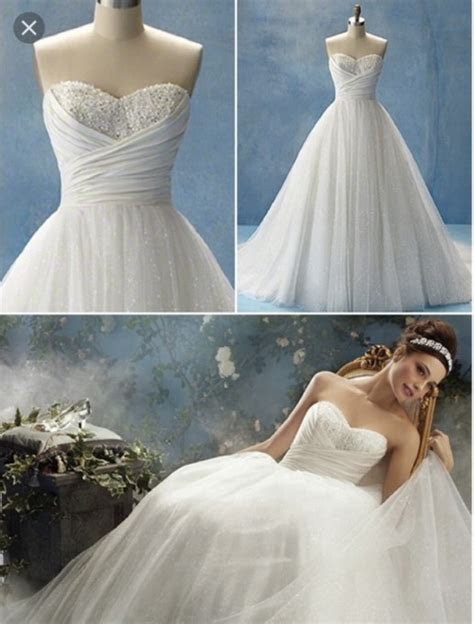 Alfred Angelo New Unaltered / Disney Fairytale Collection