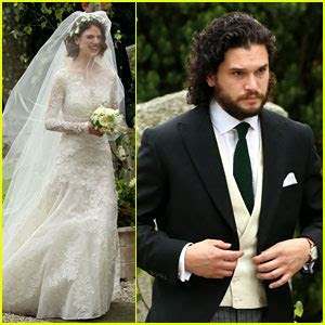 Kit Harington & Rose Leslie Are Married ? See Wedding