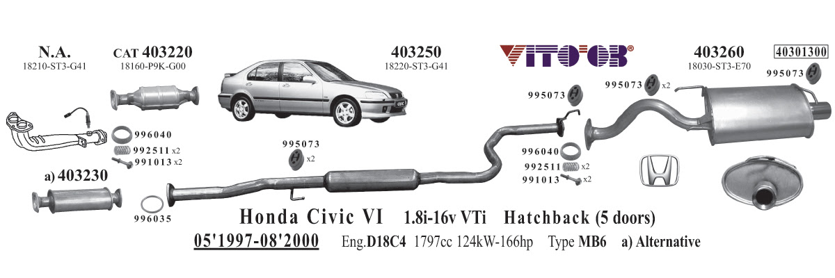 29 2001 Honda Crv Exhaust System Diagram