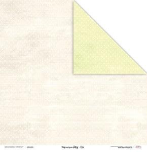 Papier 30x30 cm - Beige and green JOY - 06 Laserowe LOVE