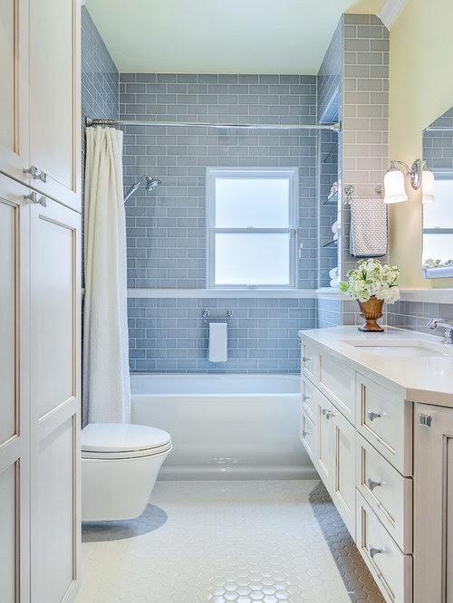 Small Family Bathroom Design Ideas, Renovations & Photos