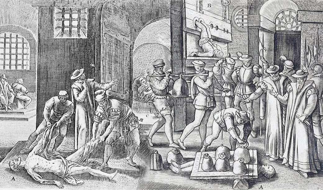 Средневековая Европа и её нравы на примере правосудия в старой «доброй» Англии
