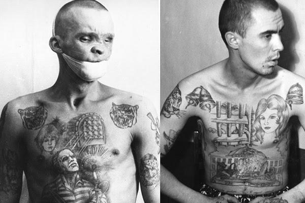 El Tatuaje En El Mundo Criminal Ruso