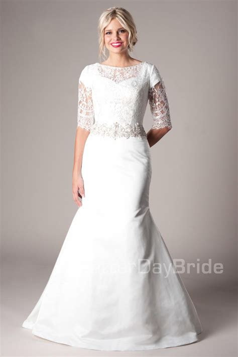Remington Modest Wedding Dress Latter Day Bride & Prom