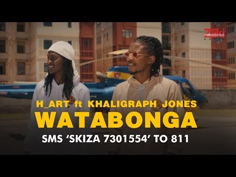 H_Art The Band Ft. Khaligraph Jones ~ WATABONGA [DOWNLOAD  VIDEO  MP4]