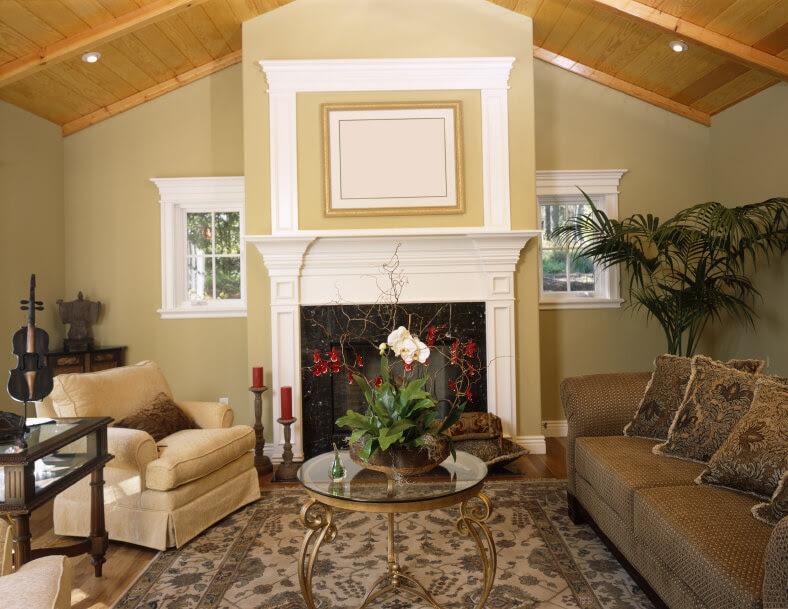 Best 25  Fireplace windows ideas on Pinterest   Stone fireplace ...