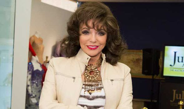 actress, author, Joan Collins, Timeless Beauty Range, Christmas, UploadExpress, Sarah Ewing